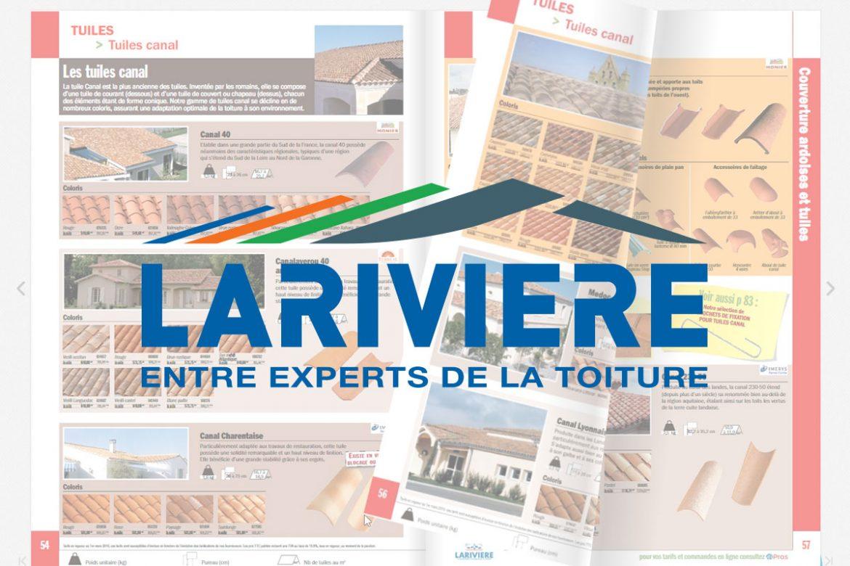 Catalogue General Lariviere Lotus Bleu Agence De Communication